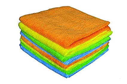 Sheen Microfiber Cleaning Cloth | Cleaning Products | Microfiber Cleaning Cloth for Home and Kitchen | Cleaning Towels | Cleaning Cloth | 30X40 cm | 300 GSM | Pack of 8 |