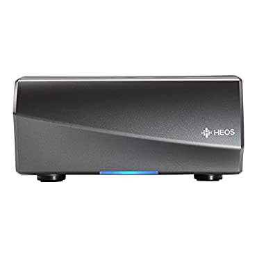 Denon HEOS LINK Wireless Pre-Amplifier (Black and Gunmetal) (New Version)