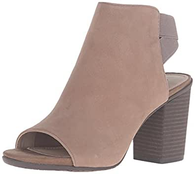 Kenneth Cole REACTION Women's Fridah Fly Ankle Boot, Putty, 10 M US