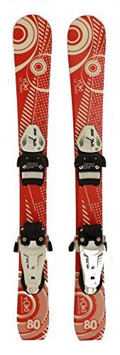 New Lil Flake Kids Jr. Shape Snow Ski with Tyrolia 4.5 Binding (80 Centimeters)