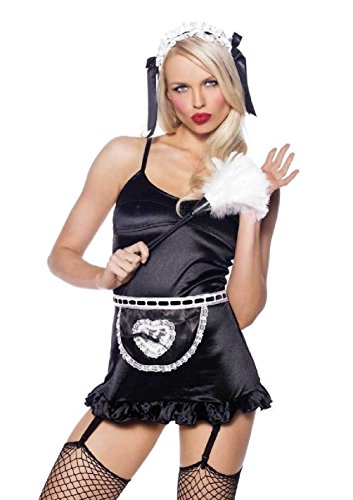 Flashdance Costume Accessories (French Maid Costume Kit Sexy French Maid Costume Kit Uptairs Maid)