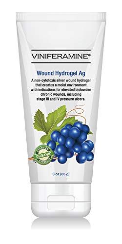 Viscous Hydrogel - Viniferamine Wound Hydrogel Ag 3oz