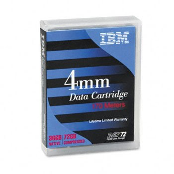 IBM - 4mm DAT72/DDS-5 Data Tape (IBM 18P7912 - 170m 36/72GB) by IBM