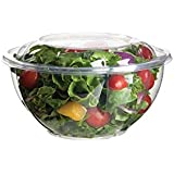 Eco-Products - Renewable & Compostable Salad Bowls - 32oz.Bowl with Lid - (Case of 150) EP-SB32
