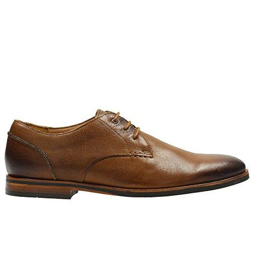 Clarks Walk Brodwood Zapatos Anchos Con Cordones Formal Marrón
