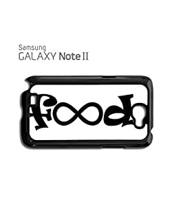 Food Infinity Geek Funny Mobile Cell Phone Case Samsung Note 2 White
