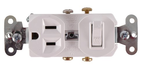 GE Switch Outlet Combo Single