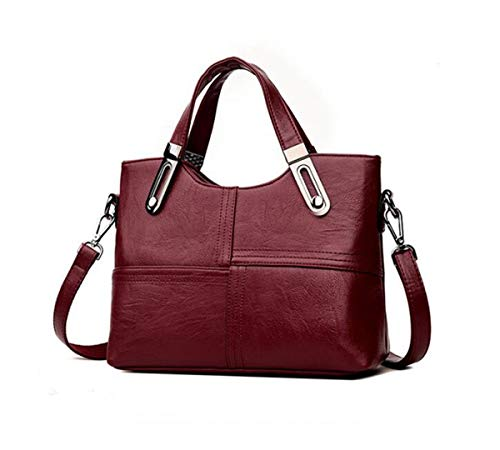 bag backpack 11 Ms Wine PU Shoulder 3 inch Red 9 4 LXopr Bags Crossbody WnqpSqHa