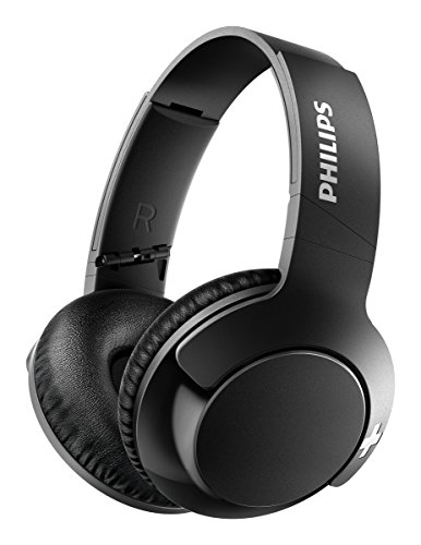 Philips SHB3175BK Bass+ On Ear Bluetooth Noise Isolating Headphones with 13...