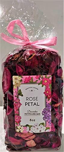 (Beautiful Season Decorative Potpourri Bag - 8oz - Rose Petal)