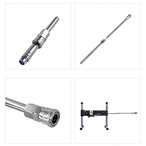 Stainless Steel Sex Machine Gun Extended Tube Connector Professional Sex Machine Lengthen Stick Accessories by RONSHIN (Image #4)