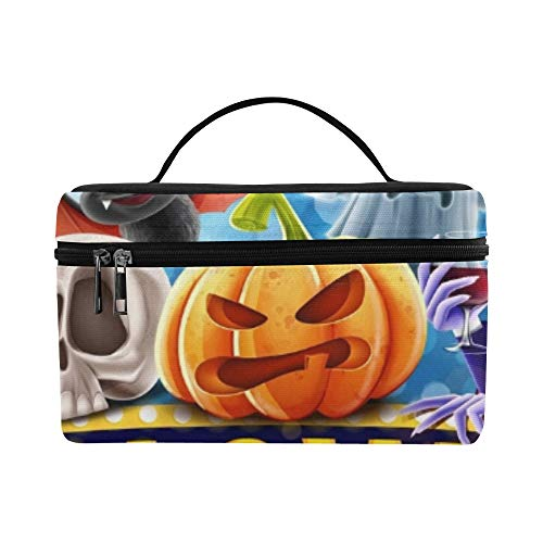 Halloween Banner Lunch Box Tote Bag Lunch Holder Insulated Lunch Cooler Bag For Women/men/picnic/boating/beach/fishing/school/work]()