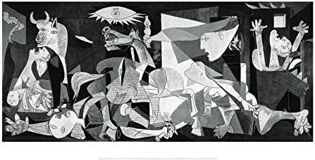 Nouvelles Images Póster 50x 100cm Guernica Pablo Picasso (1881–1973)