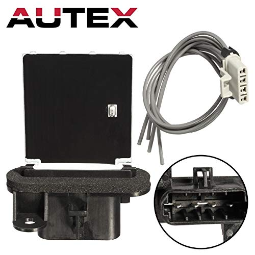 AUTEX Manual HVAC Blower Motor Resistor RU746 8713804050 JA1772 4P1650 Fits for 2005 2006 2007 2008 2009 2010 2011 2012 2013 2014 2015 Toyota Tacoma free shipping
