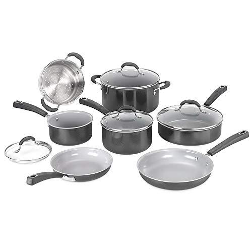 Cookware set. 11 Piece Best Pots and Pans Non Stick, Ceramic