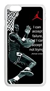 Alexgeorge Fashionable and Smart Gift Of Michael Jordan Cover Case for Iphone 6 (4.7 inch)