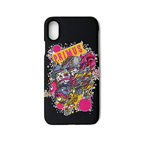 Best Stylish Fashionable Music Fests Phone Case for IphoneX TPU Material Anti-Fingerprint Non-Slip Thin Silicone Scratch Impact Resistant ()