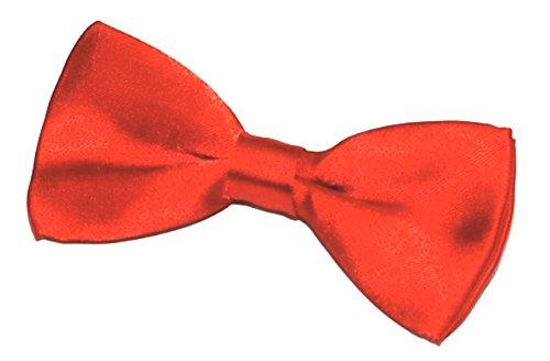 5starwarehouse® Necktie Red BOW Orange Womens Quality Wedding Fancy Pattern Plain Top Mens TIE Cravat Solid Dress r7wTr6