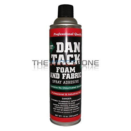 Dan Tack 2012 Professional Quality Foam & Fabric Spray Adhesive Can 12 oz