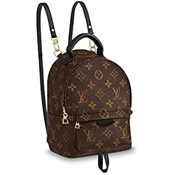 a818754316c1 Amazon.com  Louis Vuitton Palm Springs Mini Backpack M41562  Clothing