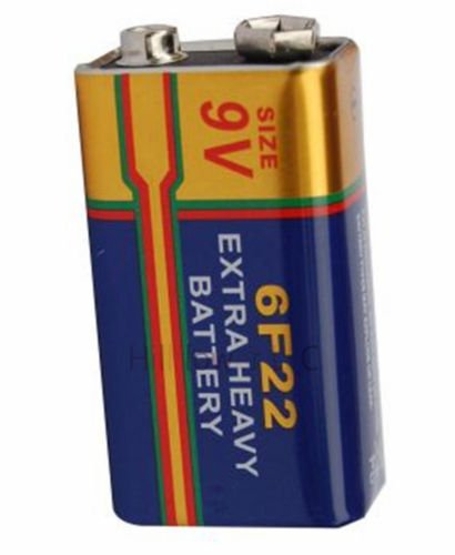 Heavy Duty 9v Battery - Hillflower 2 Pieces 6F22 6LR61 Bulk 9V Heavy Duty Long Duration Carbon Zinc New Battery