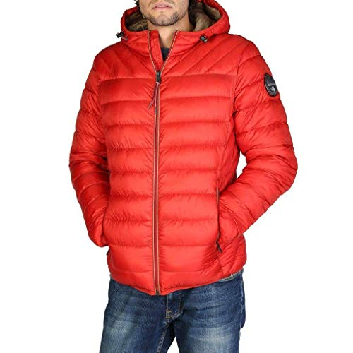 Hood Blouson Orange Aerons Red Homme Napapijri TH1w4qT