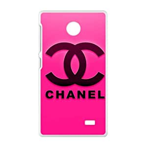 LINGH Famous brand logo Chanel design fashion cell phone case for Nokia Lumia X