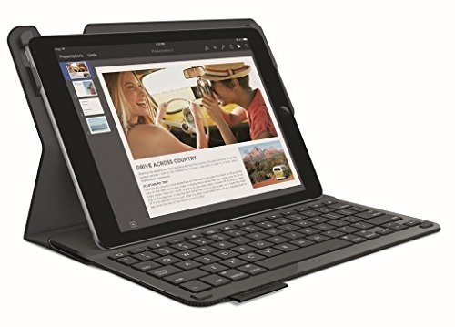 Logitech Type+ iPad Air Keyboard Case with Integrated Keyboard (For iPad Air Will Not Fit the iPad Air 2) (Logitech Ipad Air 1)