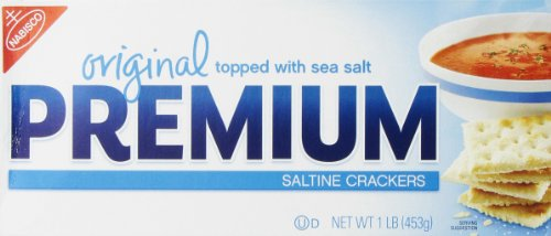 Premium Nabisco Original Saltine Crackers, 16 Ounce