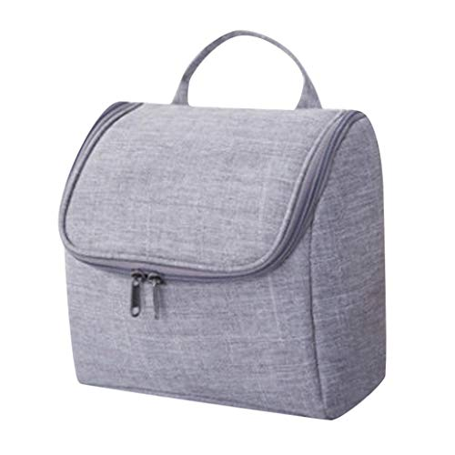 Lunch Bags,Women Tote Bag Travel Cosmetic Makeup Bag Portable Toiletry Case Wash Pouch Organizer Storage(Gray) ()