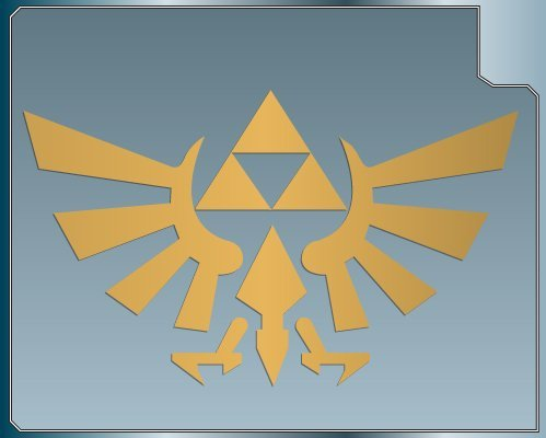 Triforce Automobile Notebook Skateboard Motorcycle product image