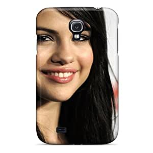 linJUN FENGCute Appearance Cover/tpu PCQjBLi3373rykLy Selena Gomez 52 Case For Galaxy S4