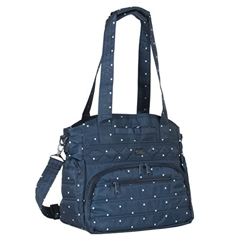 lug-womens-windjammer-everday-travel-tote-navy-dot-one-size