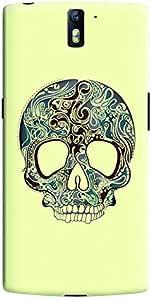 Stylizedd OnePlus One Slim Snap Case Cover Matte Finish - Skully Tattoo