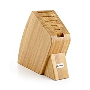 6-Slot Studio Bamboo Knife Block