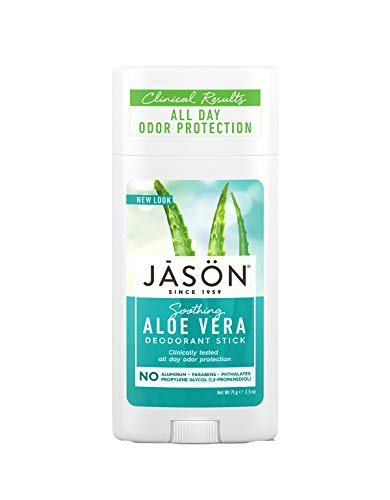 Jason Aloe Vera Stick Deodorant (Pack of