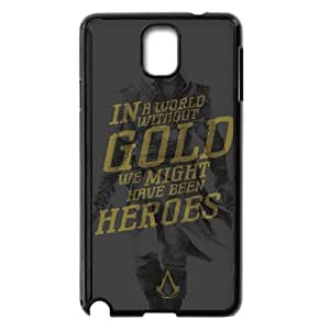 Assassins Creed Black Flag Samsung Galaxy Note 3 Cell Phone Case Black Exquisite designs Phone Case TF682J82