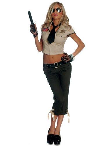 Midnight Sheriff Costumes (Seductive Sheriff Adult Costume)