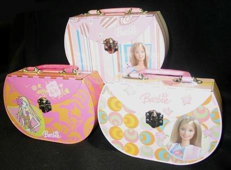 Barbie Tin Box : Barbie Carry all Tin Box