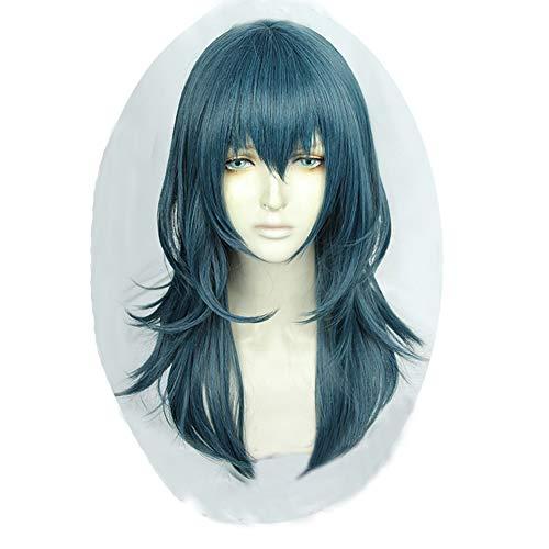 Xingwang Queen Anime Cosplay Wig Long Blue Green Wig Women Girls' Party Wigs