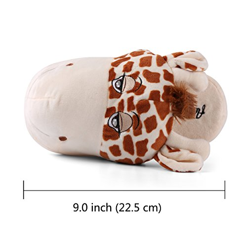 Soft House Comfy Bedroom Child On Family Cute Indoor Animal Plush Slip Slipper Fun Warm Slippers xX1ZP