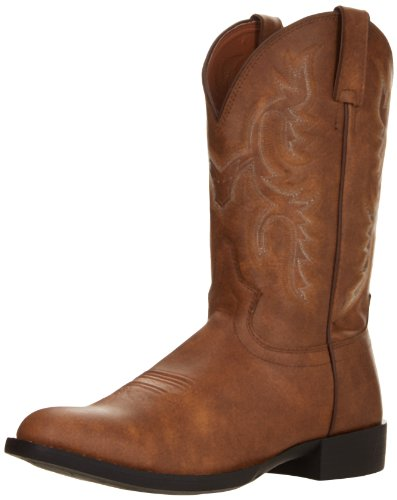 Justin Boots Men's Farm and Ranch Equestrian Boot
