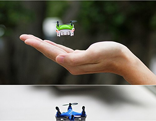Successory FY804 Nano Drone Mini 2.4G 4CH RC Quadcopter Mini RC Aircraft Green
