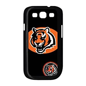 Cincinnati Bengals Team Logo Samsung Galaxy S3 9300 Cell Phone Case Black 218y3-201535
