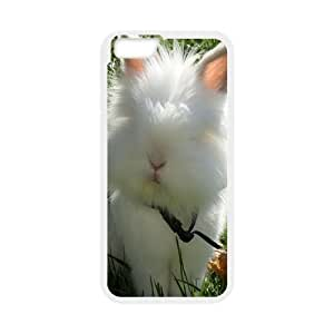 Iphone 6 Case Cat Rabbit by Leemarson for White Iphone 6 (4.7)inch Screen lmar607105