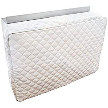 Sturdy Covers Indoor AC Cover Defender - Insulated Indoor Air Conditioner Unit Cover (White, 14 x 21 x 4)