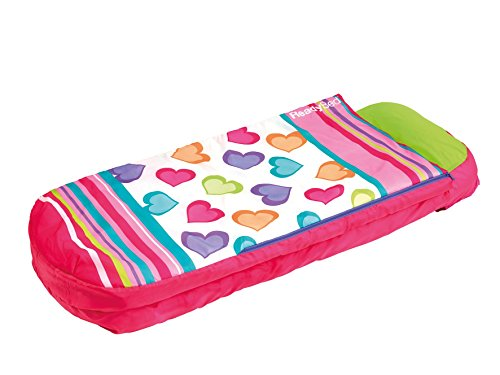 Worlds Apart Junior Ready Bed, Hearts (Air Mattresses For Kids)