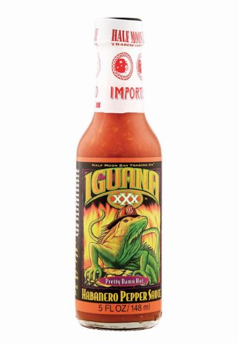 Iguana Sauce Habanero Pepper Hot