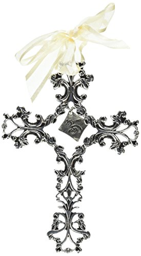 Cathedral Art FC309 25 Year Anniversary Wall Cross, 5-Inch ()
