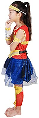 Disfraz de Mujer Maravilla para niños Niñas Disfraces Ropa Fiesta ...